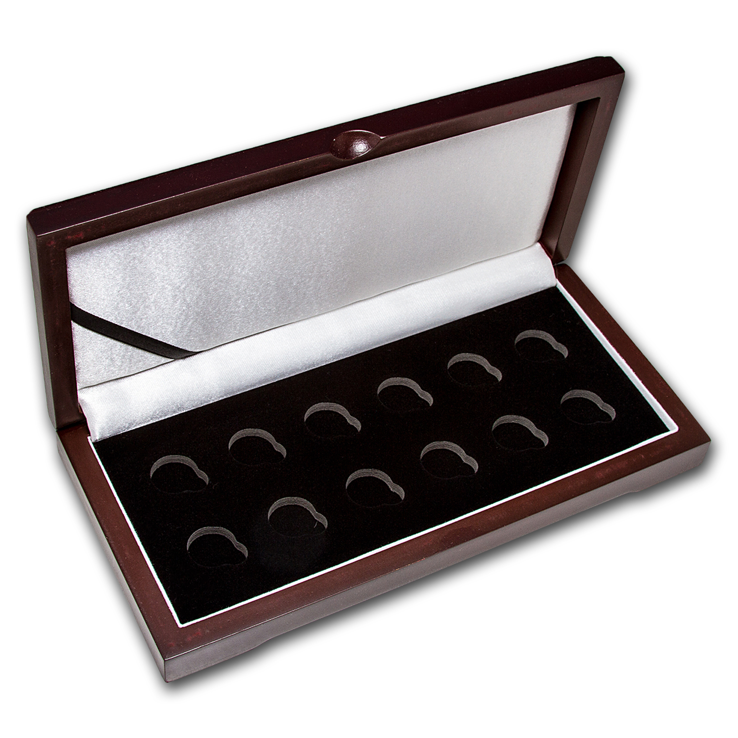 Lunar Series I (1/20 oz Gold) - 12 Coin Wood Presentation Box