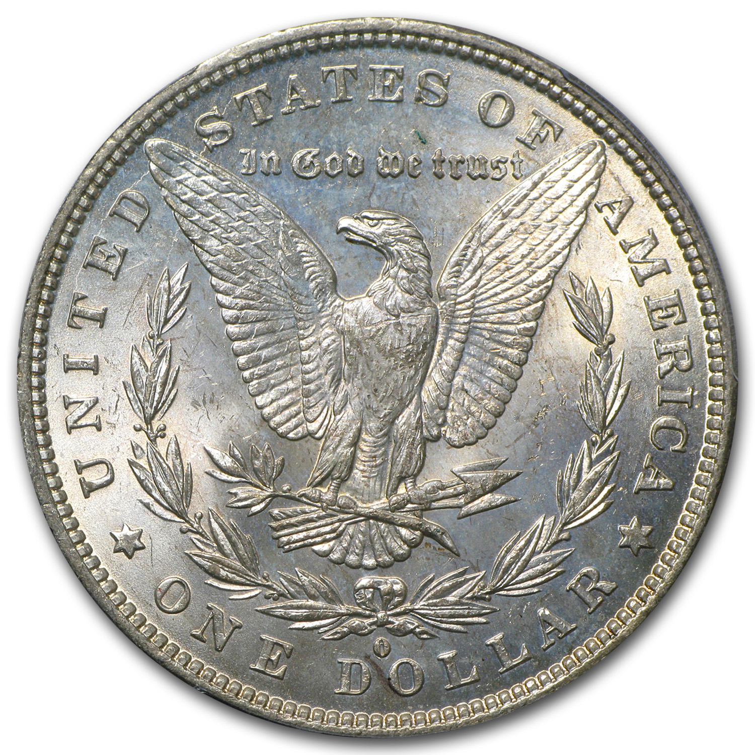 1878-1904 Morgan Dollars MS-63 PCGS (Toned, Obv/Rev)