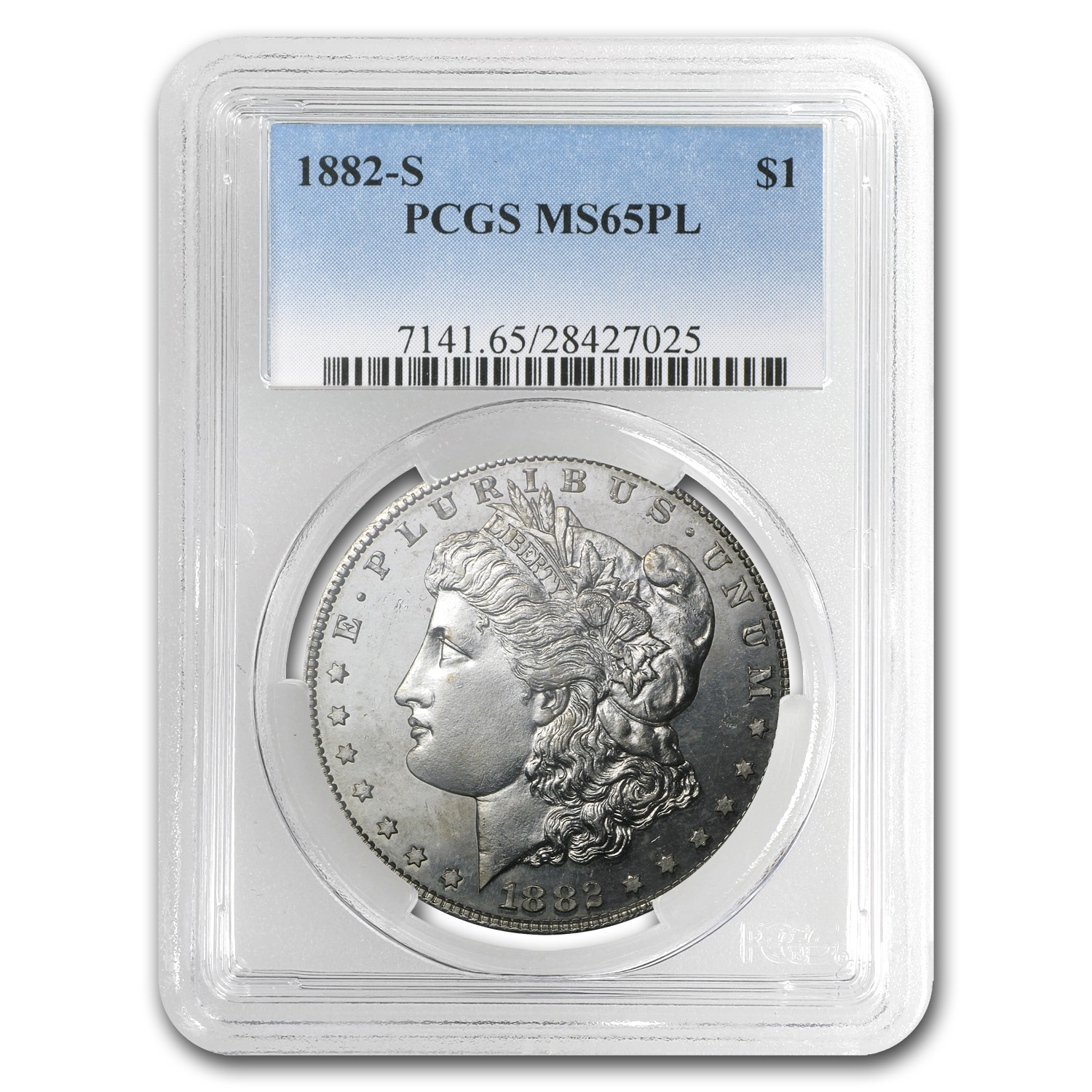 1878-1904 Morgan Dollars MS-65 PCGS (Proof Like)