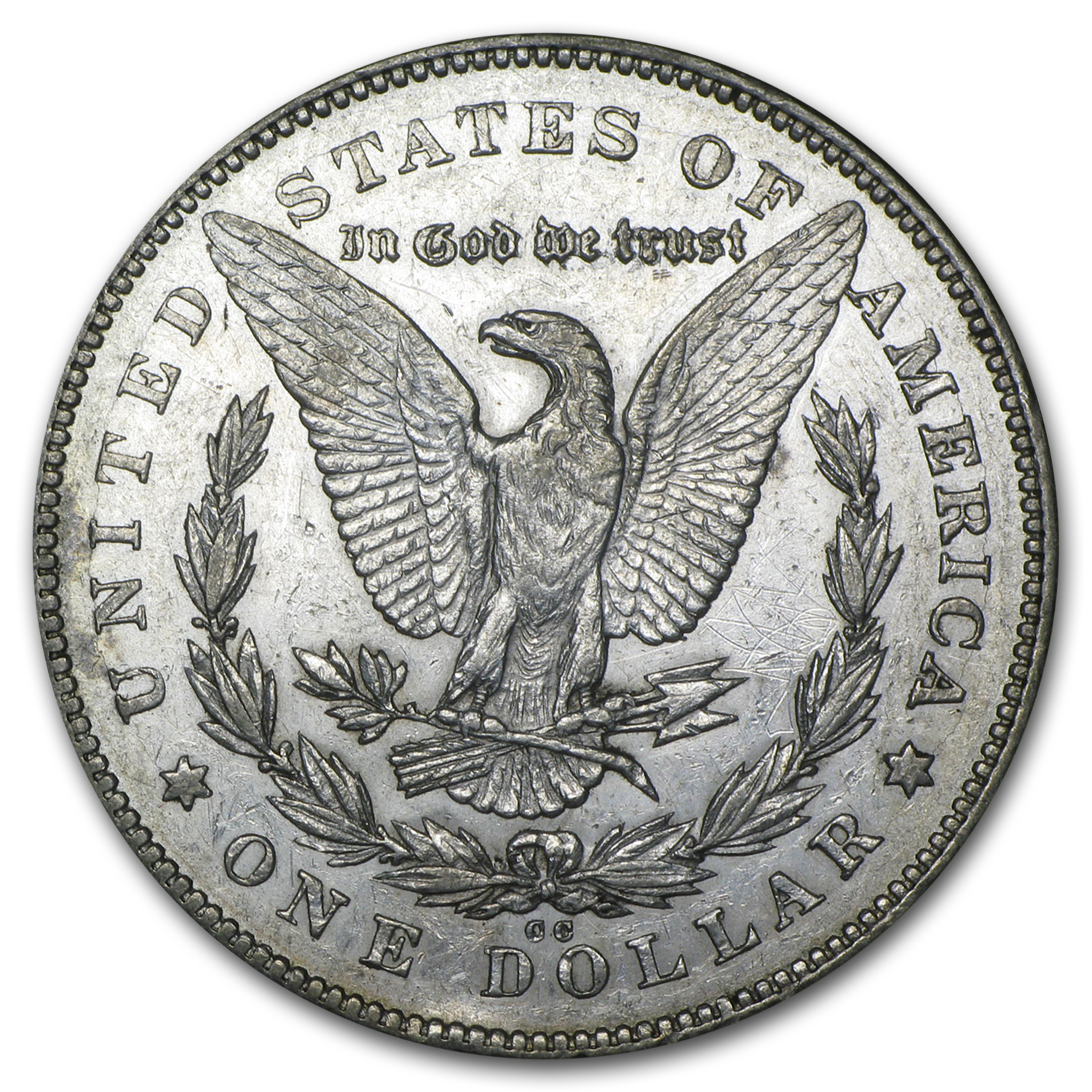 1878-CC Morgan Dollar AU