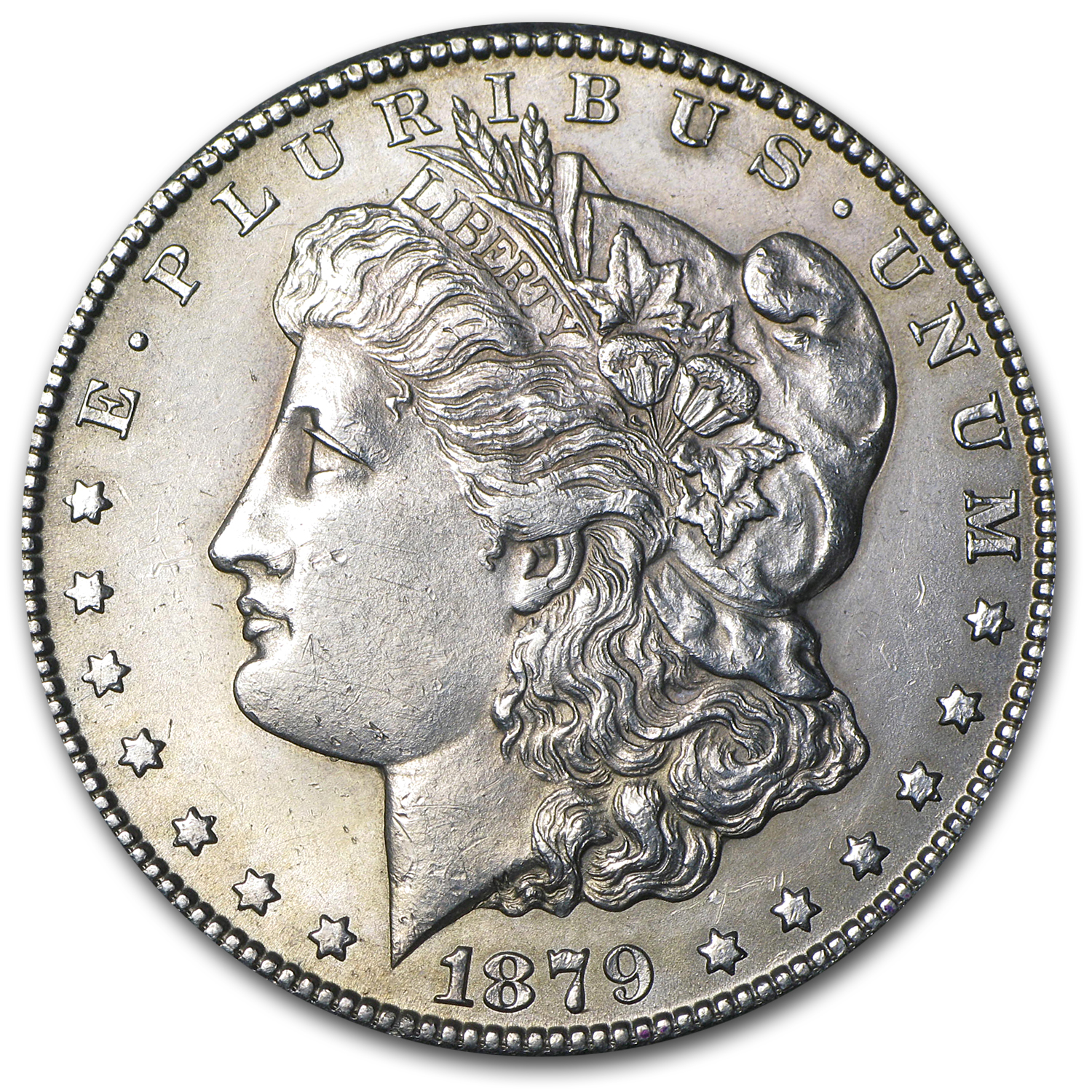 1879-CC Morgan Dollar BU