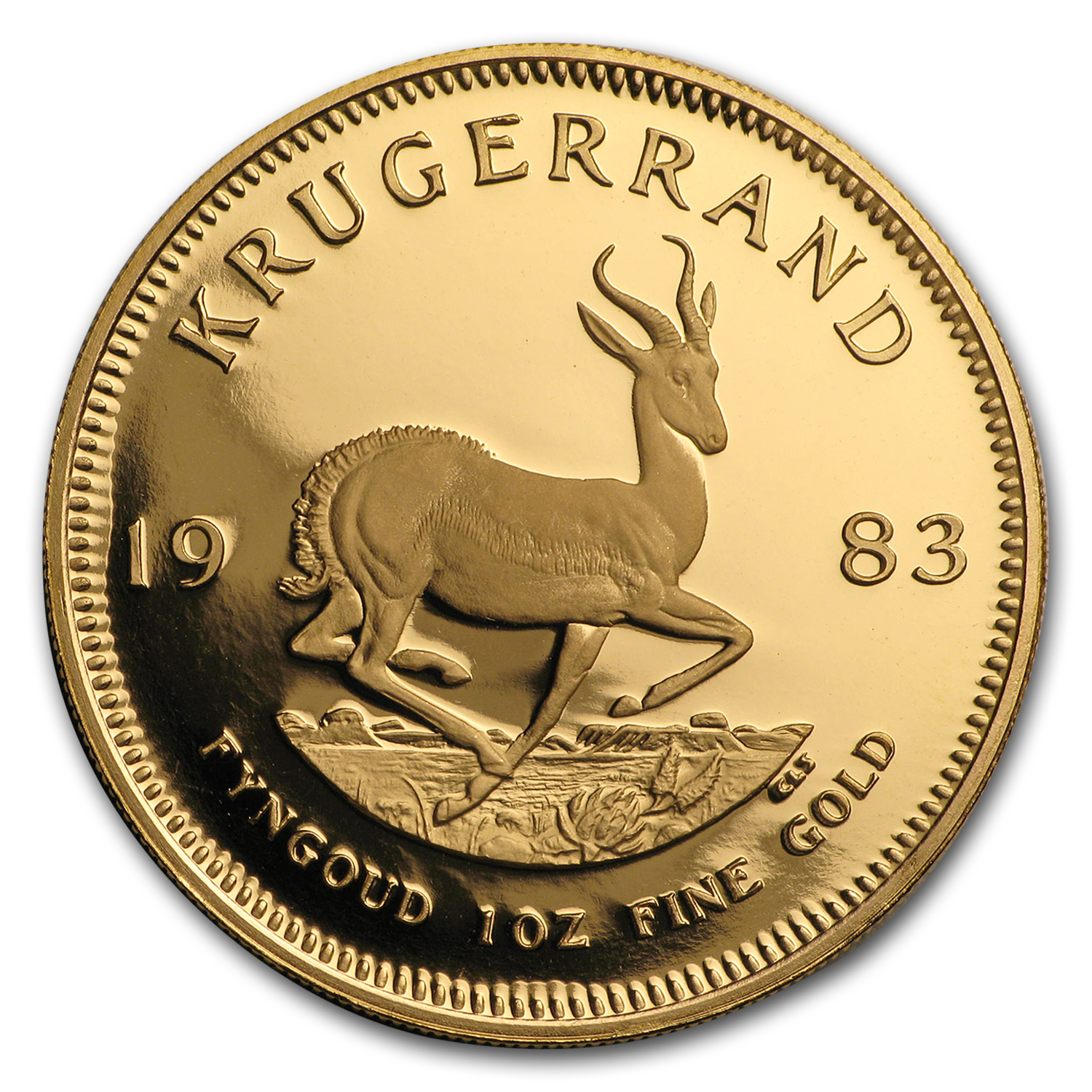 1983 1 oz Gold South African Krugerrand (Proof)
