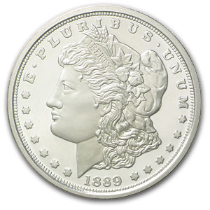1889-CC Morgan Dollar Replica (Proof)