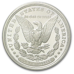 1 oz Silver Rounds - 1889-CC Morgan Dollar Replica (Proof)