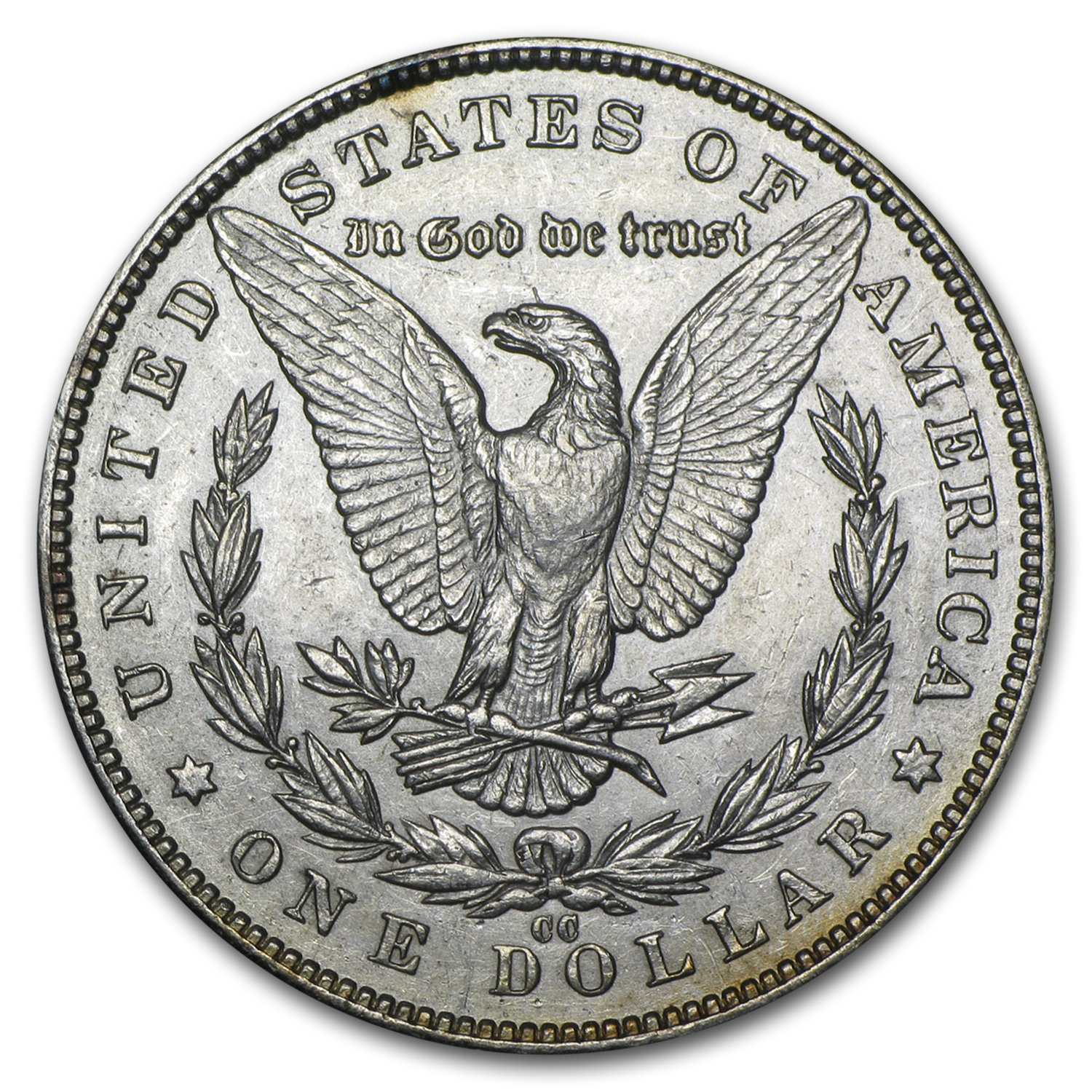 1891-CC Morgan Dollar - Almost Uncirculated