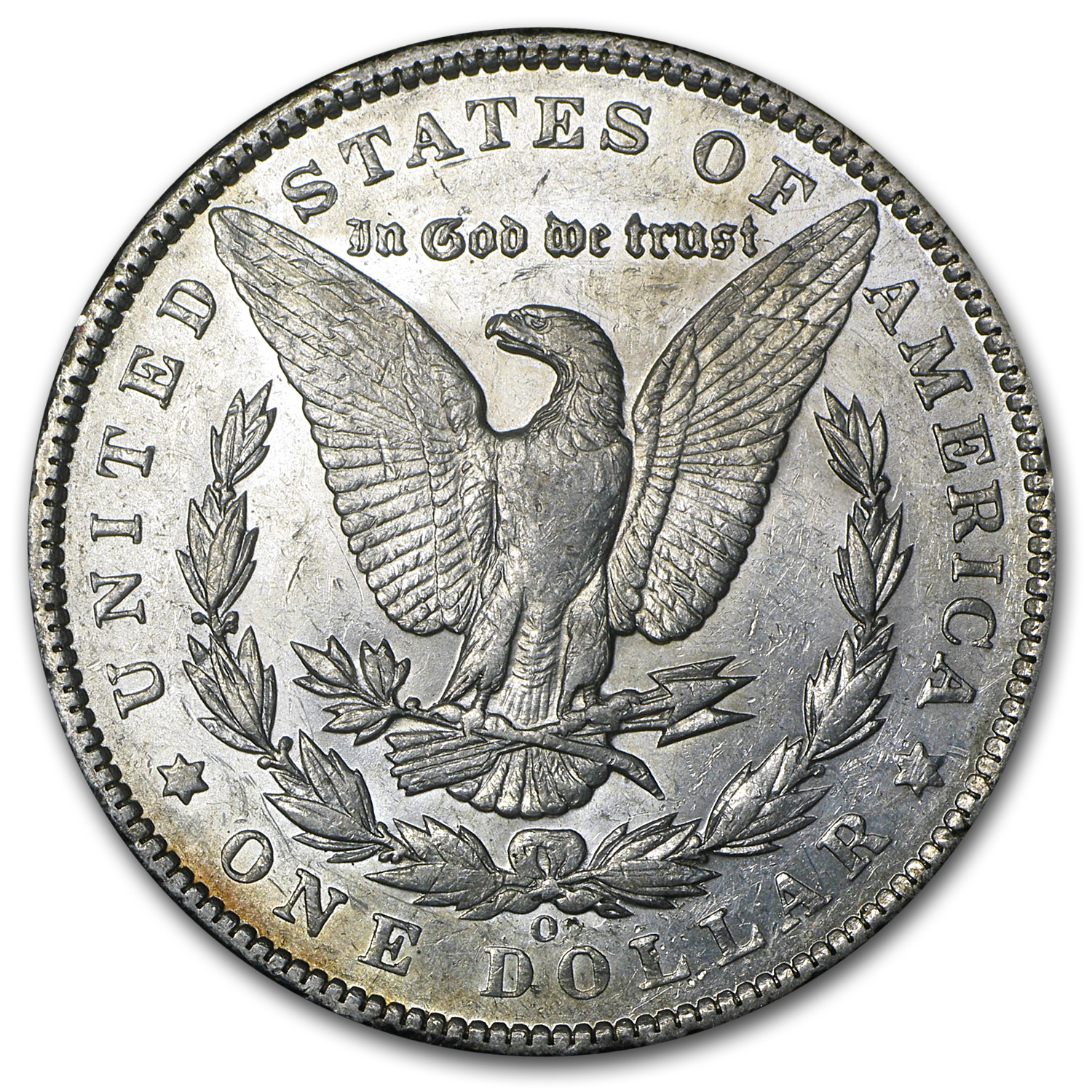 1894-O Morgan Dollar - Almost Uncirculated