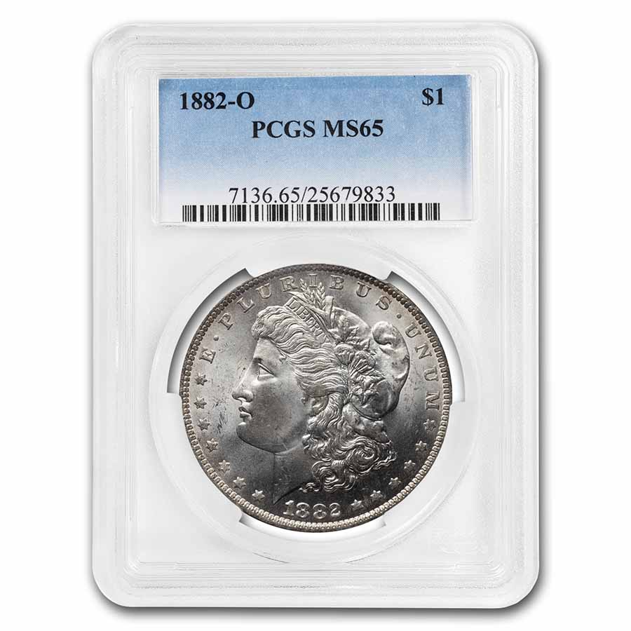 1882-O Morgan Dollar MS-65 PCGS
