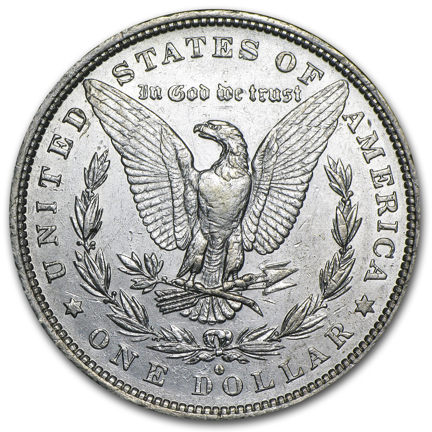 1882-O/S Morgan Dollar - Almost Uncirculated-50