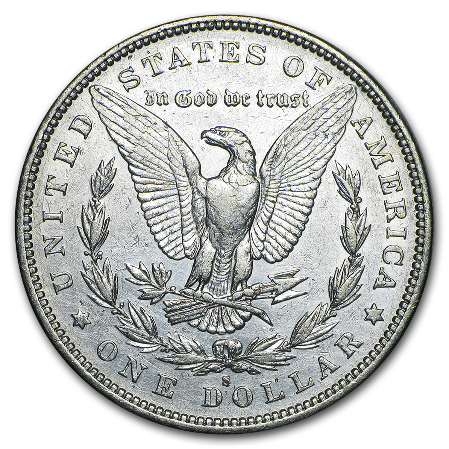 1883-S Morgan Dollar XF-45