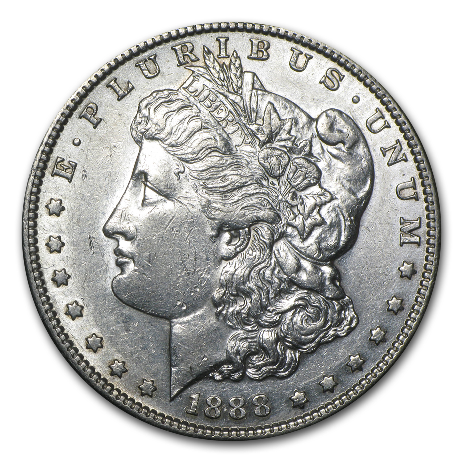 1888-S Morgan Dollar AU