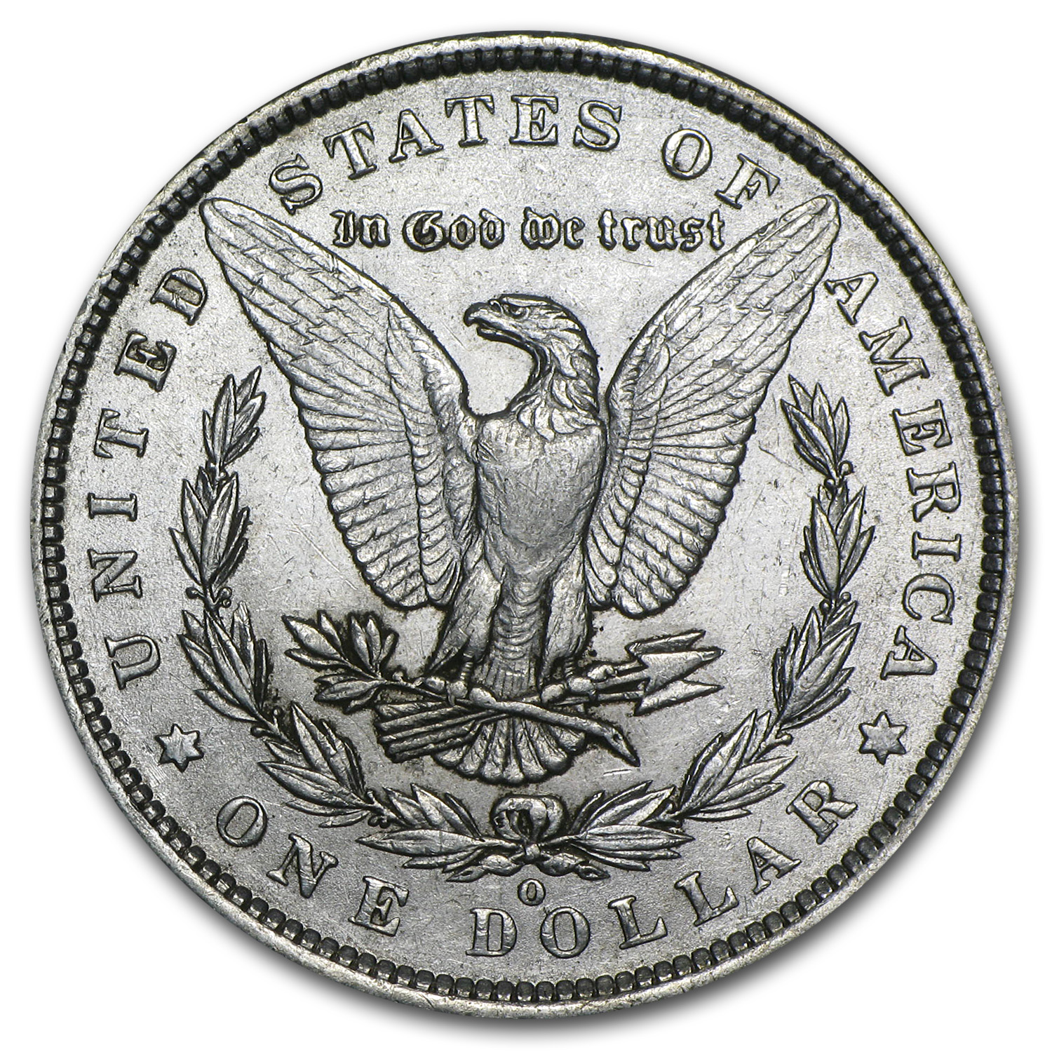 1889-O Morgan Dollar - Almost Uncirculated