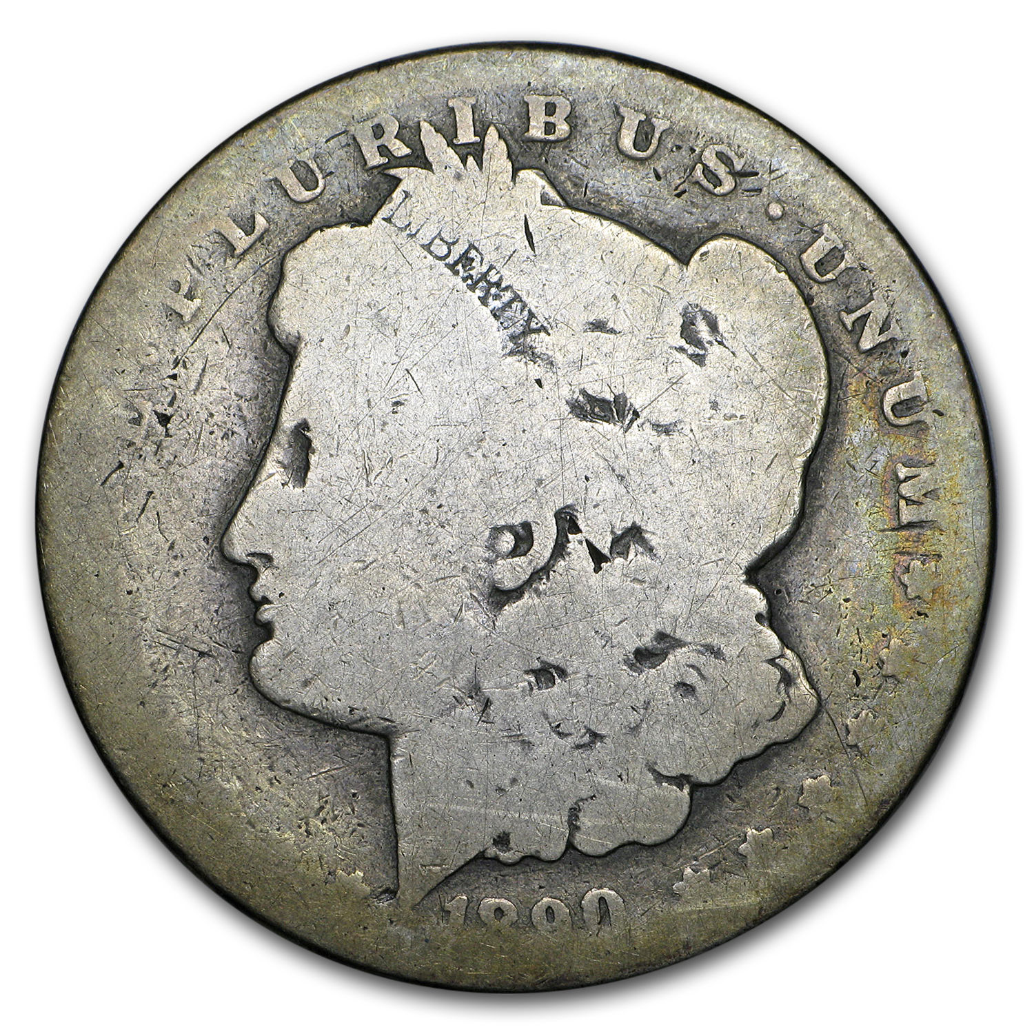 1890-CC Morgan Dollar AG