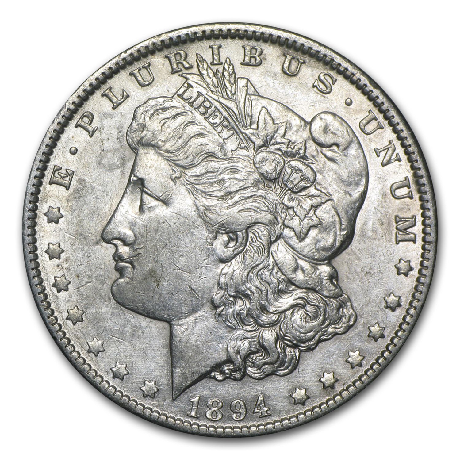 1894-O Morgan Dollar AU (Cleaned)