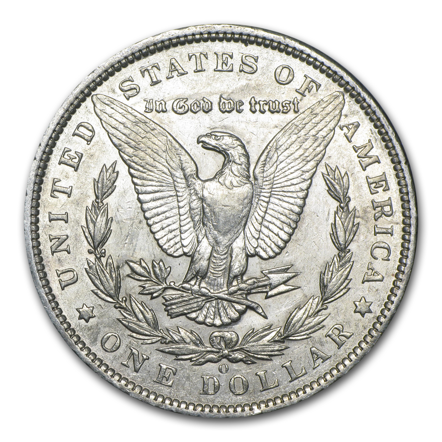 1894-O Morgan Dollar - Almost Uncirculated Details - Cleaned