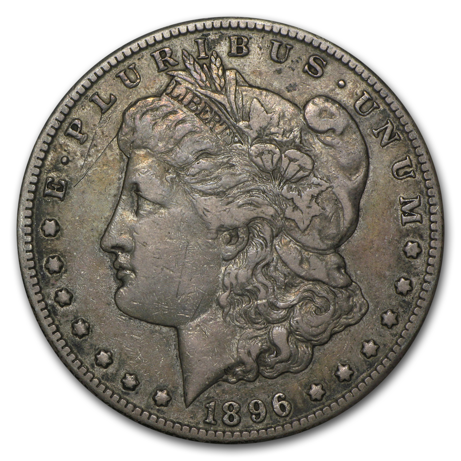 1896-S Morgan Dollar - Very Fine