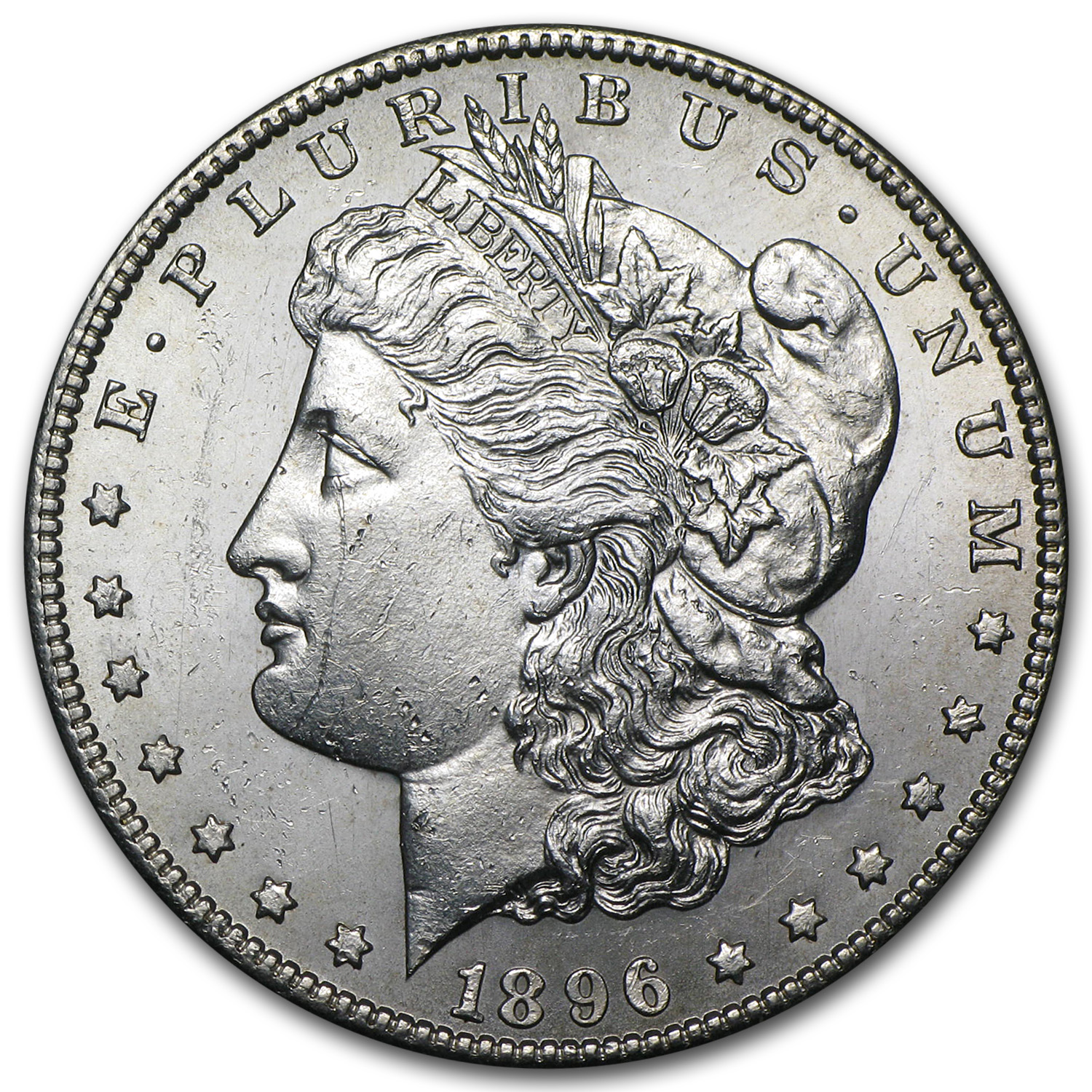 1896-S Morgan Dollar BU