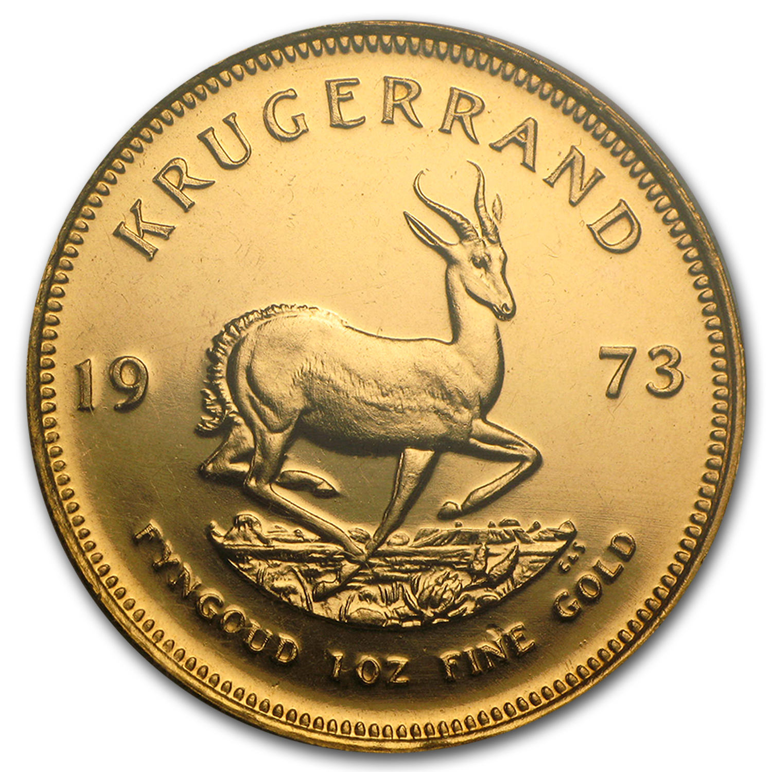 1973 1 oz Gold South African Krugerrand (Proof)