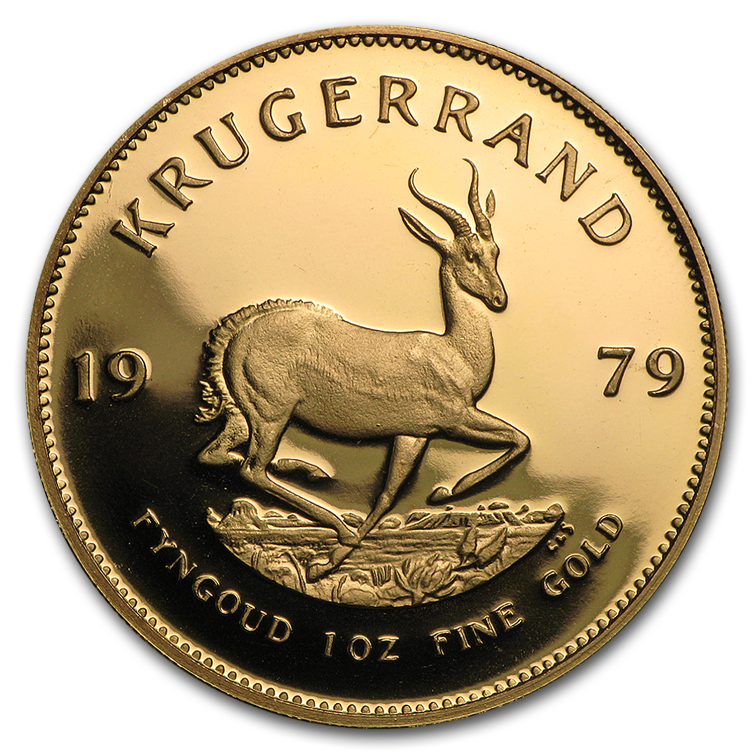1979 1 oz Gold South African Krugerrand (Proof)