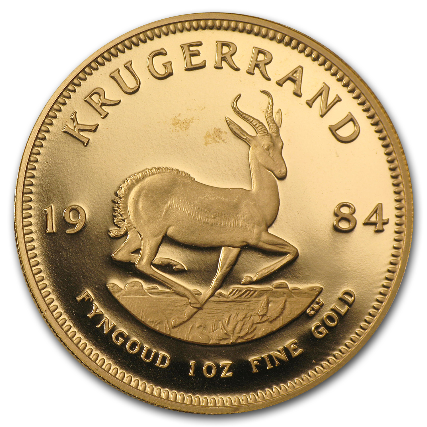 1984 1 oz Gold South African Krugerrand (Proof)