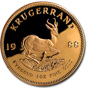 1988 South Africa 1 oz Proof Gold Krugerrand