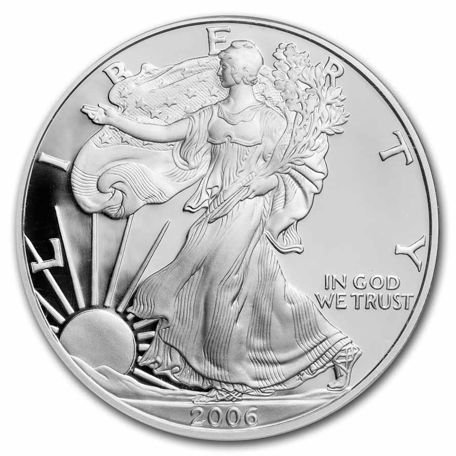 2006-W Proof Silver American Eagle PF-70 NGC