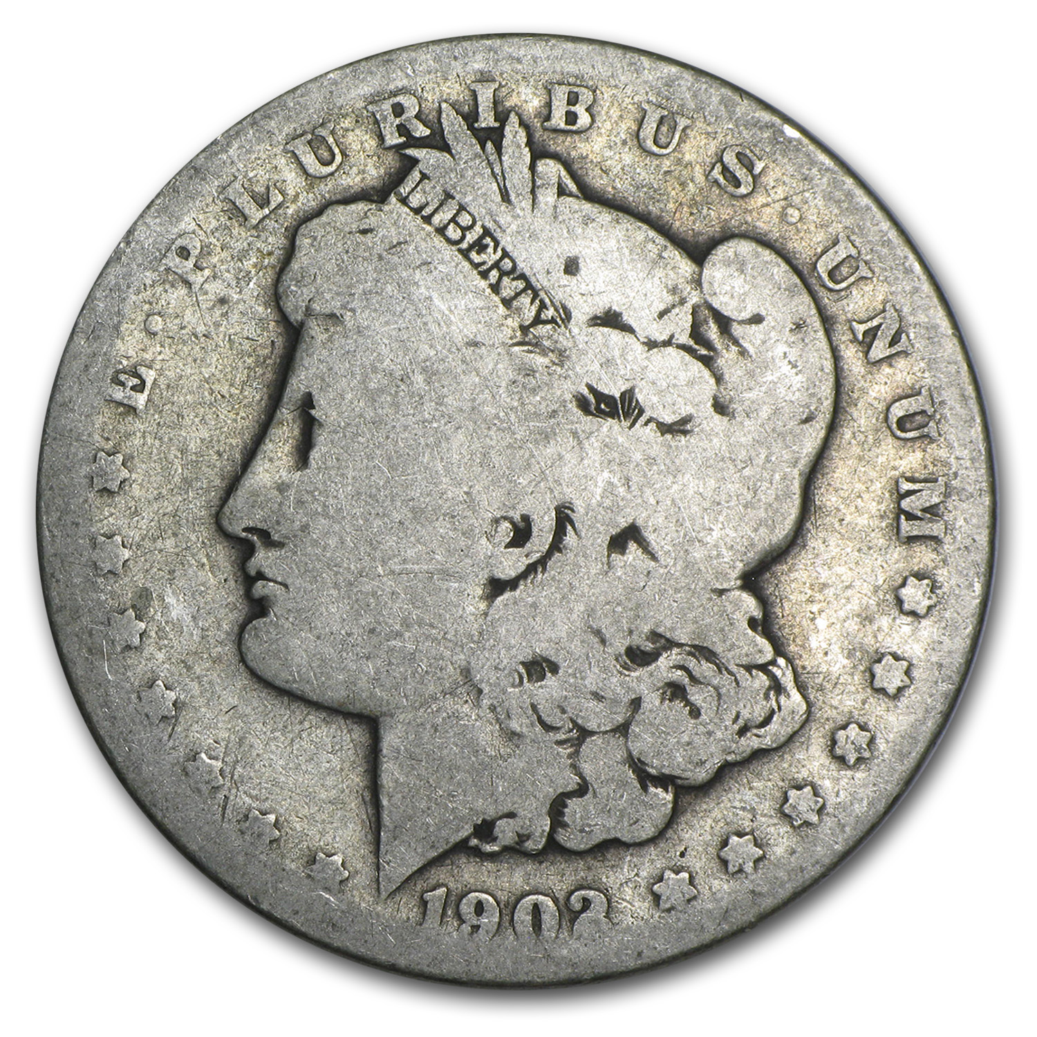 1902-S Morgan Dollar AG