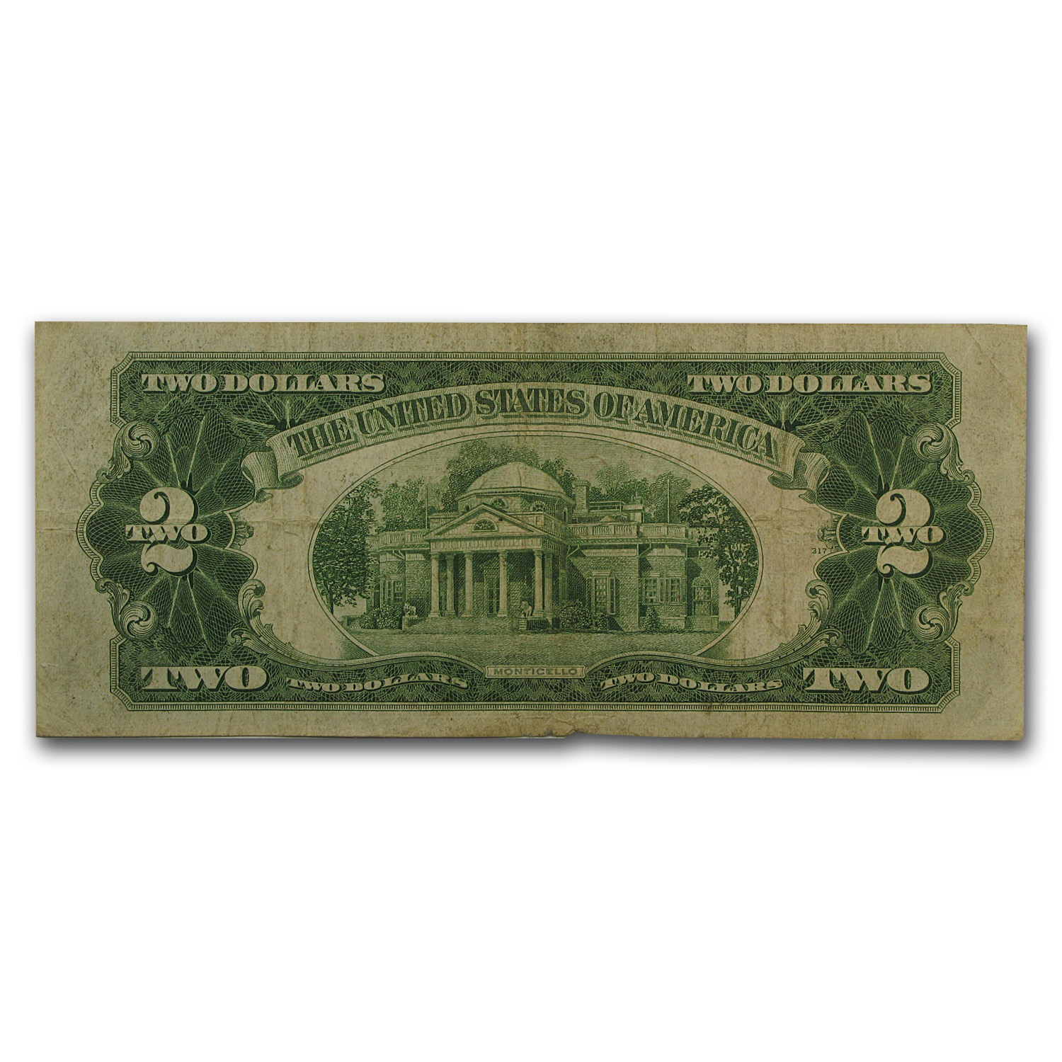 1928-E $2.00 U.S. Note Red Seal Fine (FR#1506)