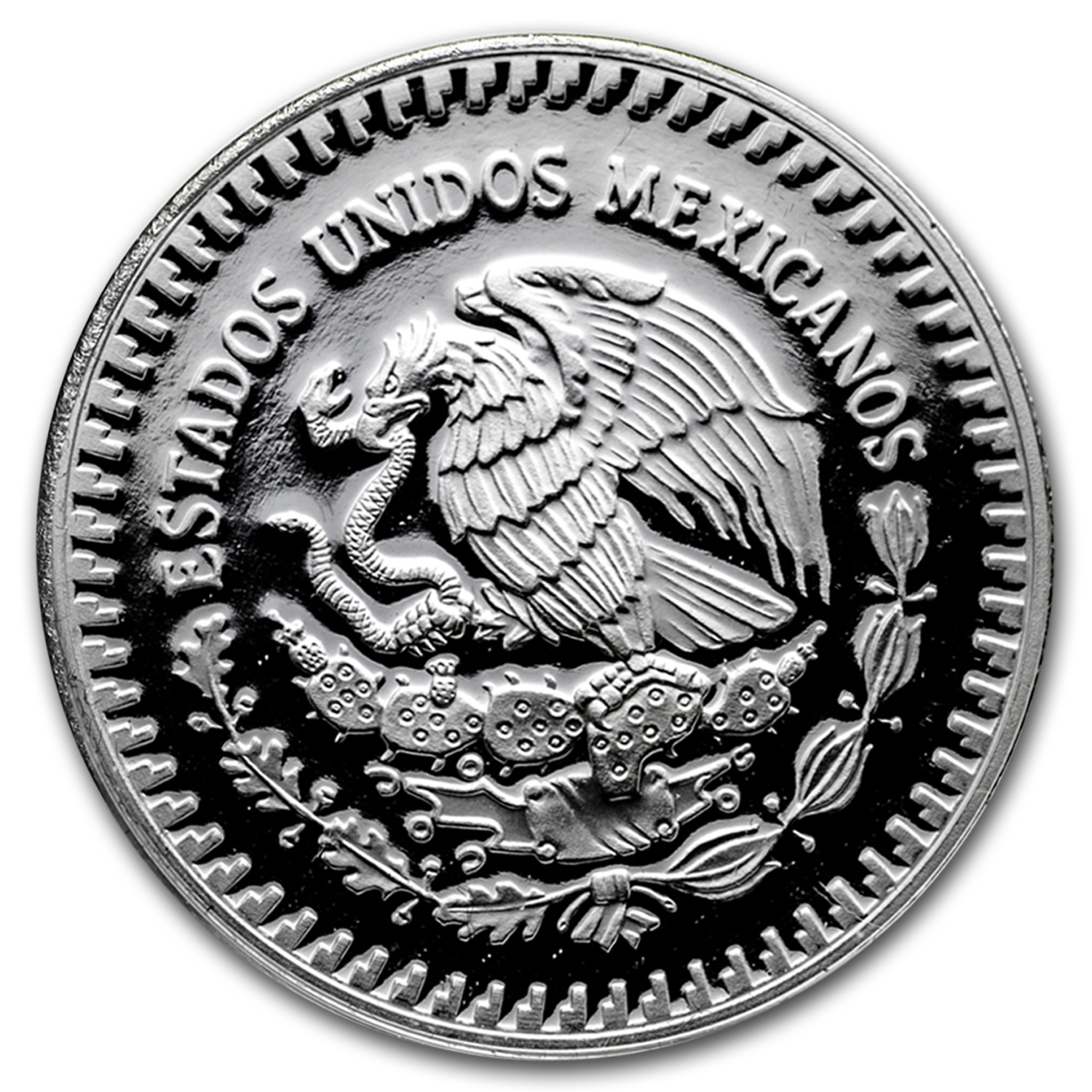 1991 Mexico 1 oz Silver Libertad Proof (w/Box & COA)