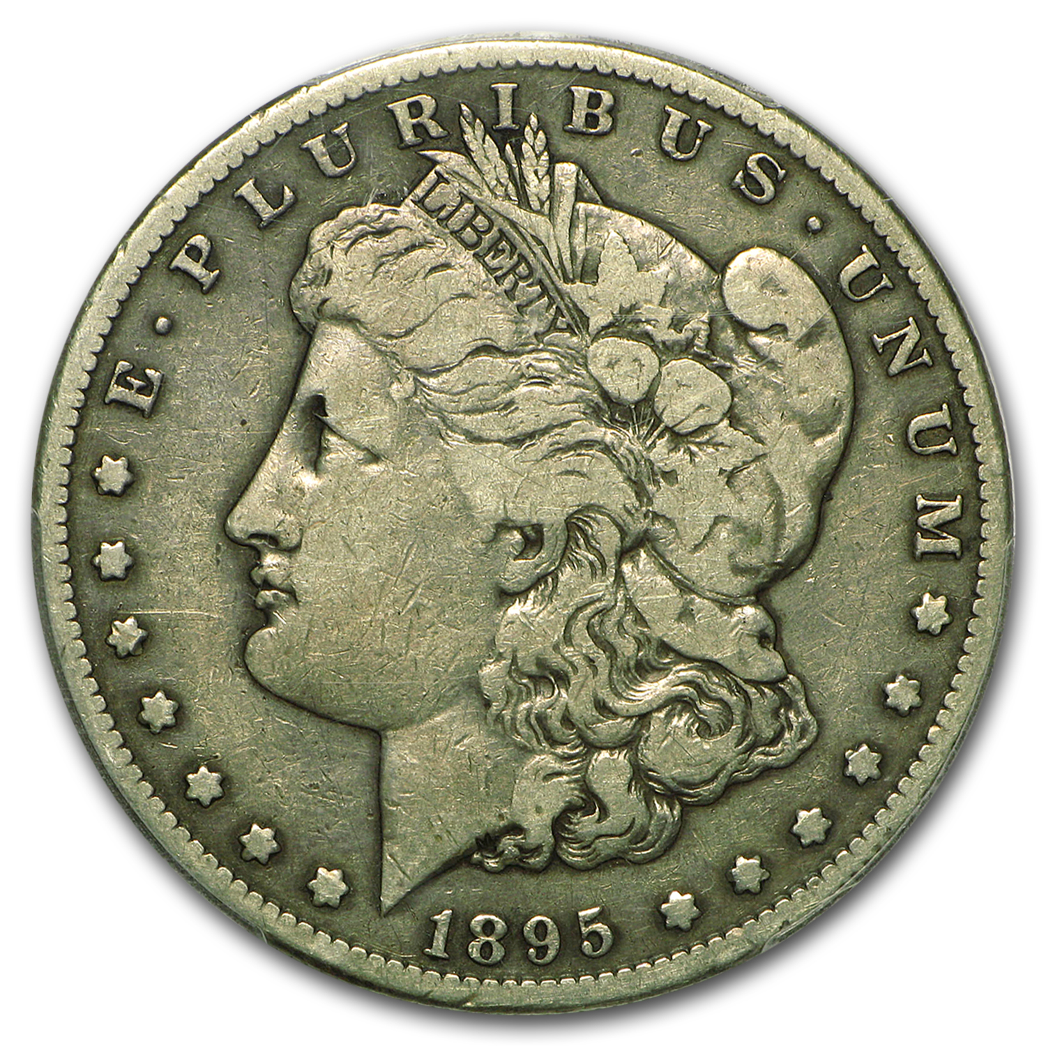 1895-S Morgan Dollar Fine-12 PCGS