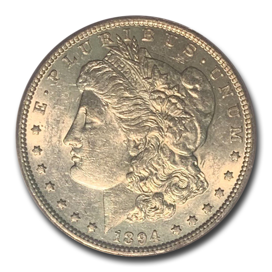 1894 Morgan Dollar Almost Uncirculated-53 PCGS