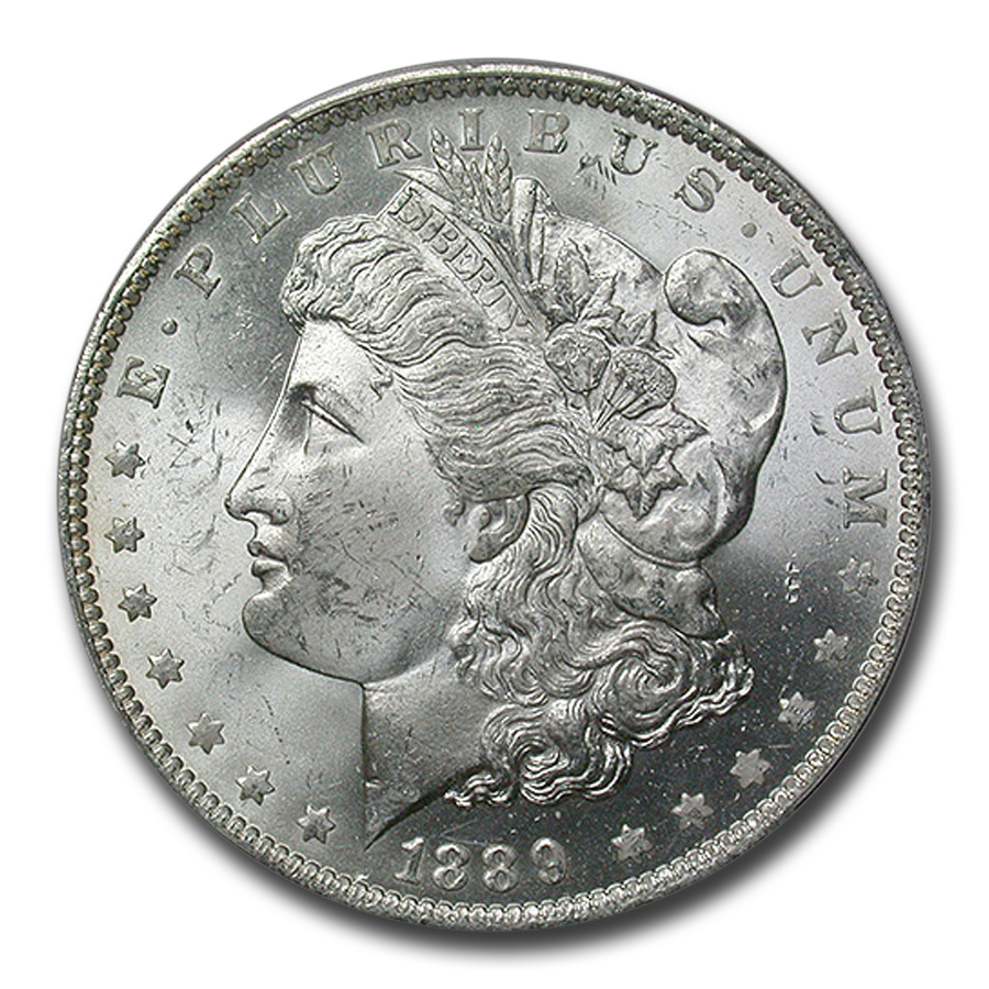 1889-O Morgan Dollar MS-64 PCGS