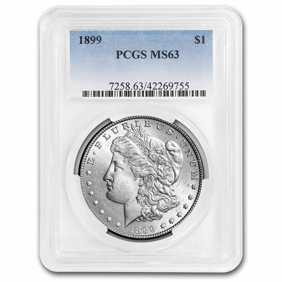 1899 Morgan Dollar MS-63 PCGS