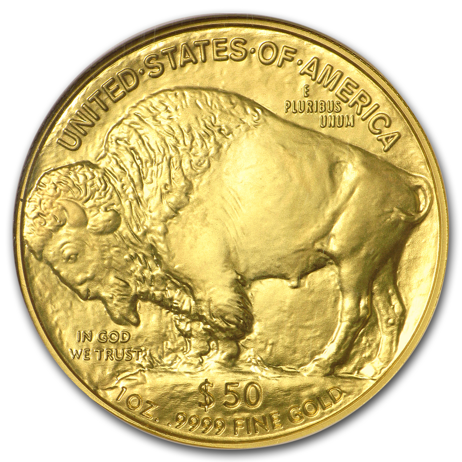 2007 1 oz Gold Buffalo MS-70 NGC (Early Releases)