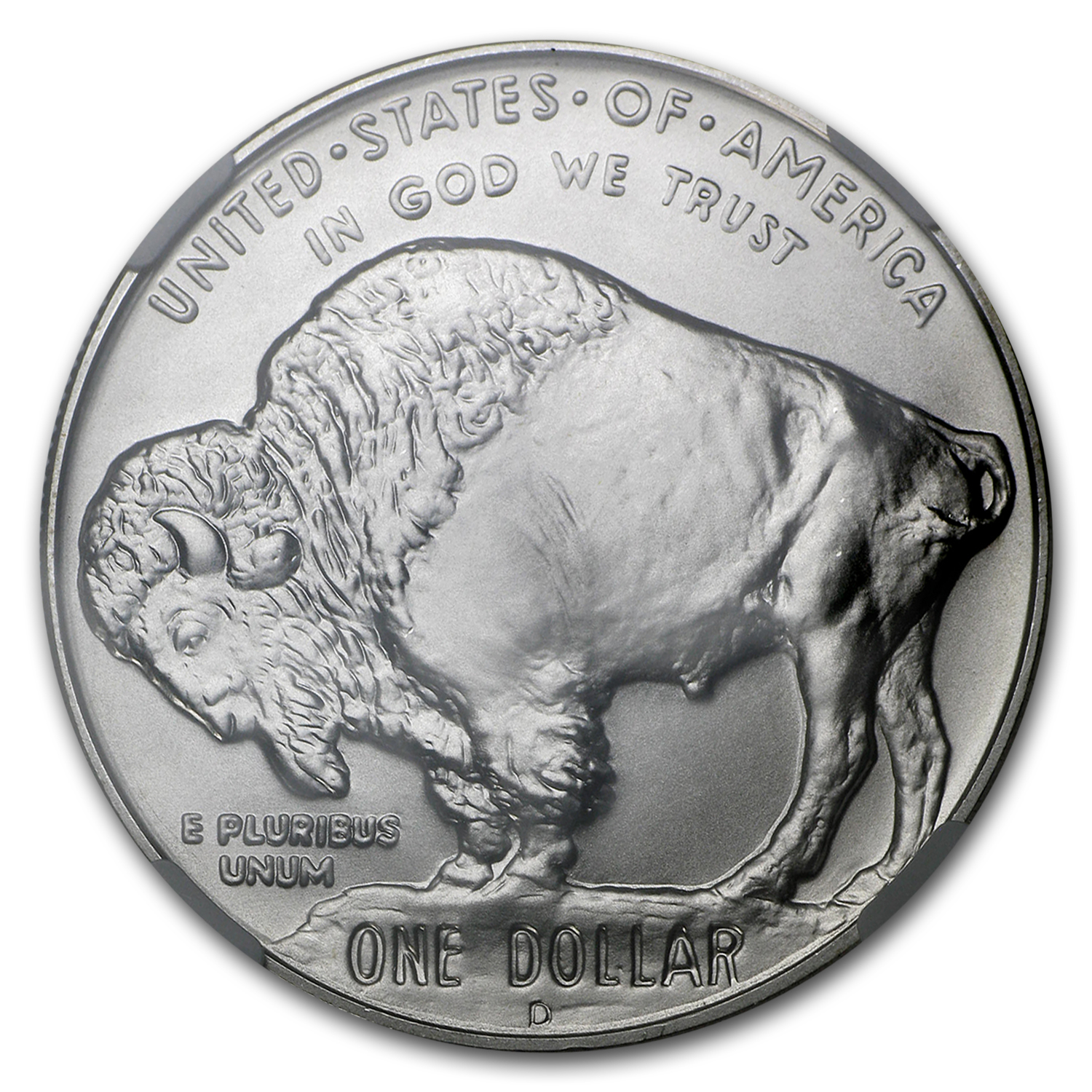 2001-D Buffalo $1 Silver Commemorative MS-70 NGC
