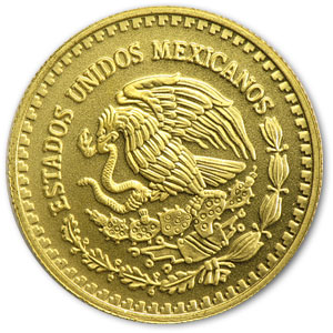 2007 Mexico 1/10 oz Gold Libertad BU