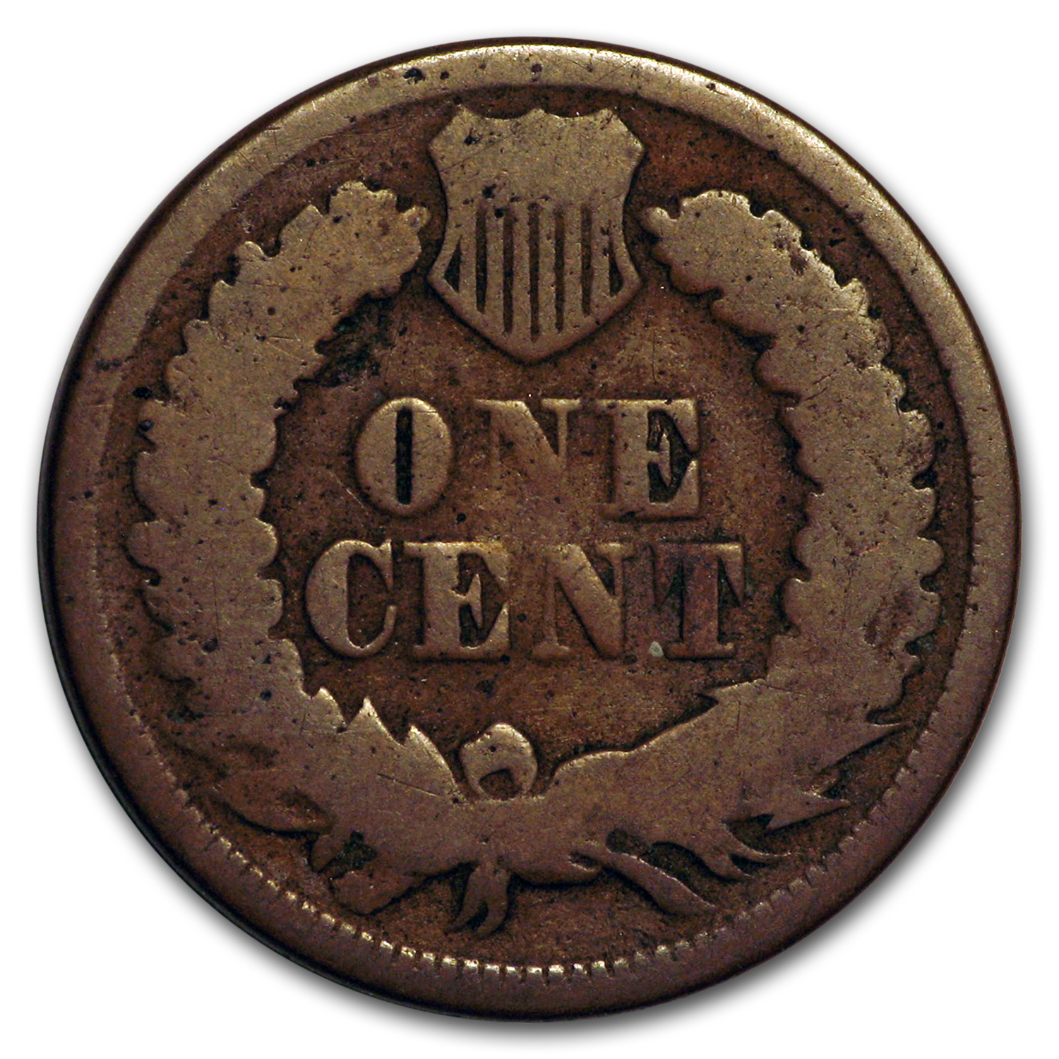 1870 Indian Head Cent AG