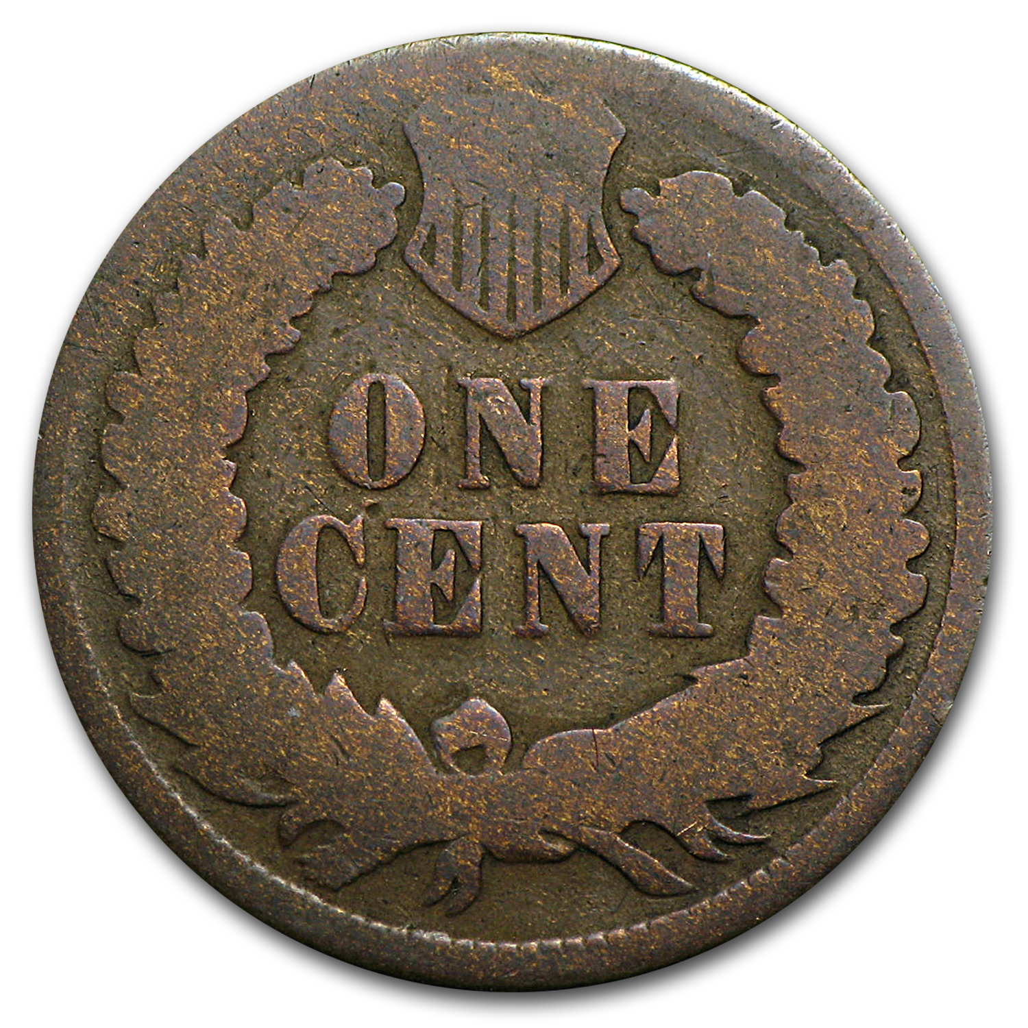 1871 Indian Head Cent AG