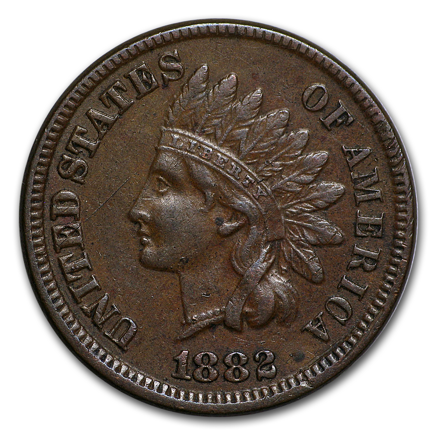 1882 Indian Head Cent XF