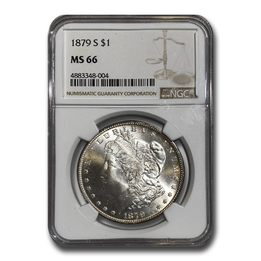 1879-S Morgan Dollar MS-66 NGC