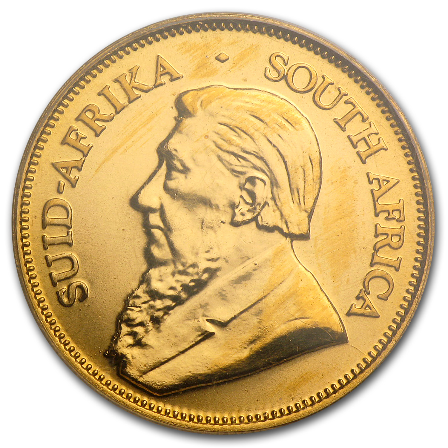 2000 South Africa 1/4 oz Gold Krugerrand Unc PCGS (WTC)
