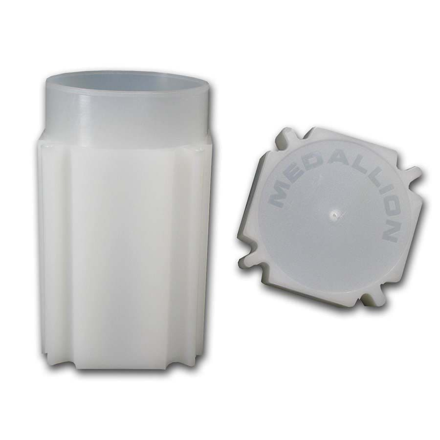 Square Coin Tube - Medallion Size (39mm)