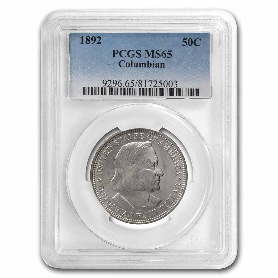 1892 Columbian Expo Half Dollar MS-65 PCGS
