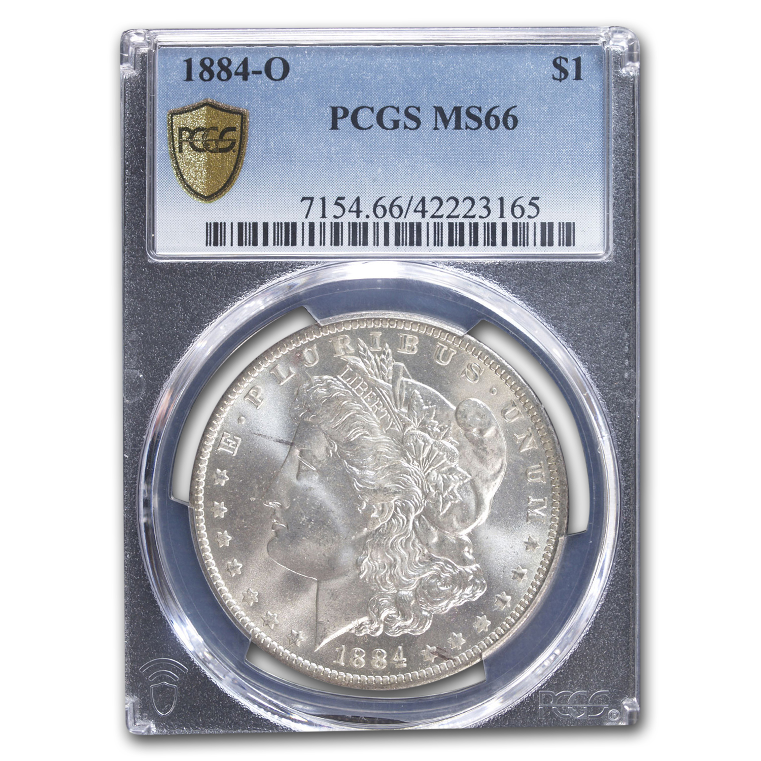 1884-O Morgan Dollar - MS-66 PCGS
