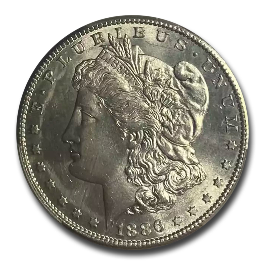 1886-S Morgan Dollar MS-64 PCGS