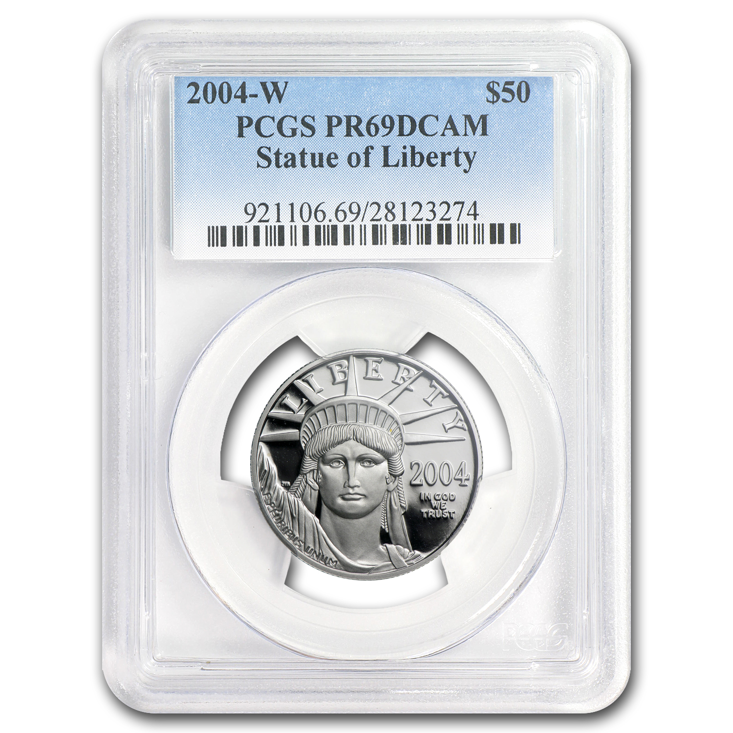 2004-W 1/2 oz Proof Platinum American Eagle PR-69 PCGS
