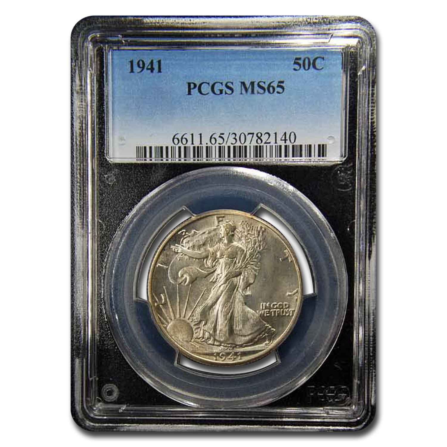 1941 Walking Liberty Half Dollar MS-65 PCGS