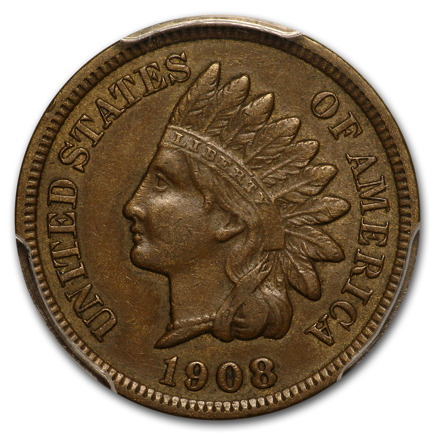 1908-S Indian Head Cent XF-45 PCGS