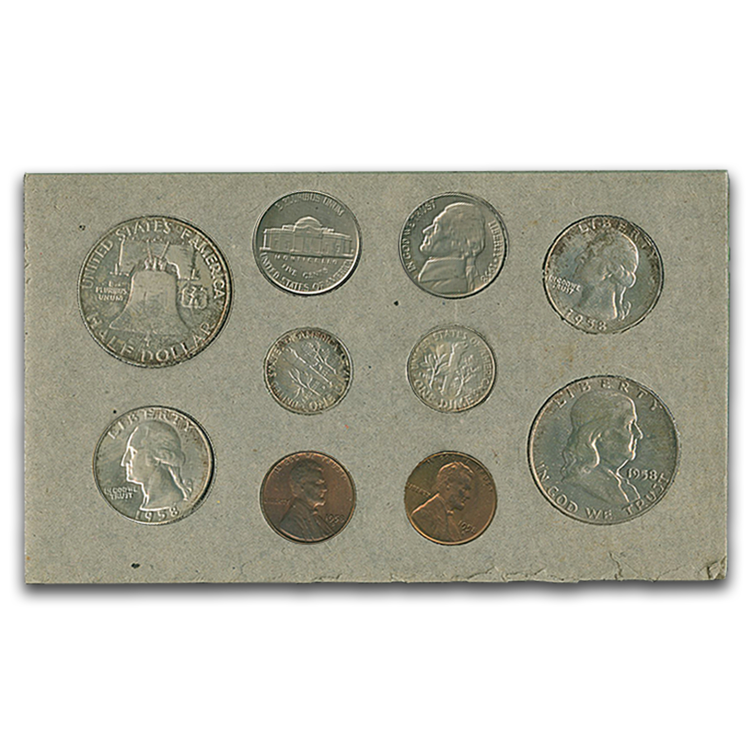 1958 U.S. Double Mint Set