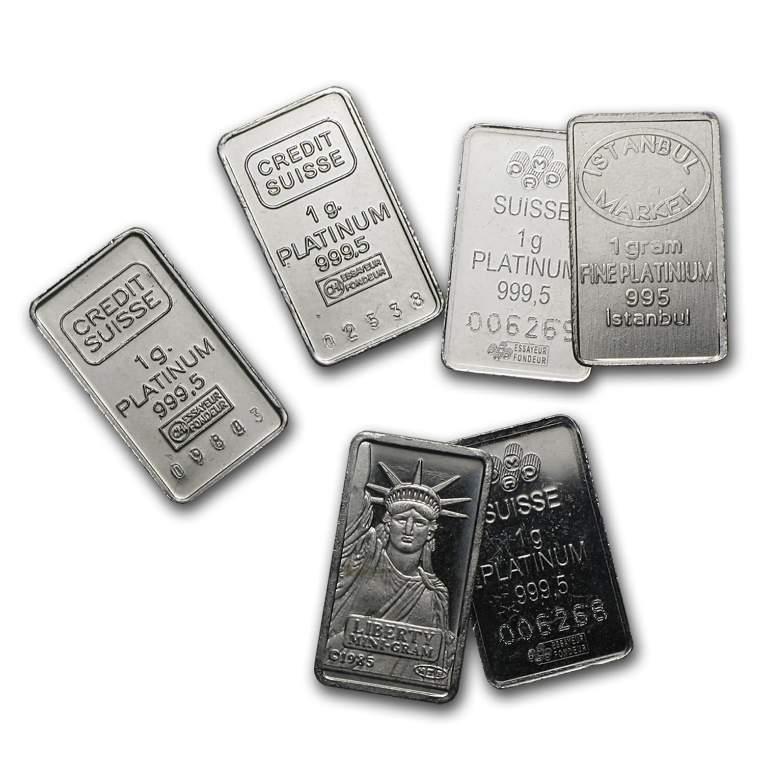 Buy 1 Gram Platinum Bar For Sale One Gram Platinum