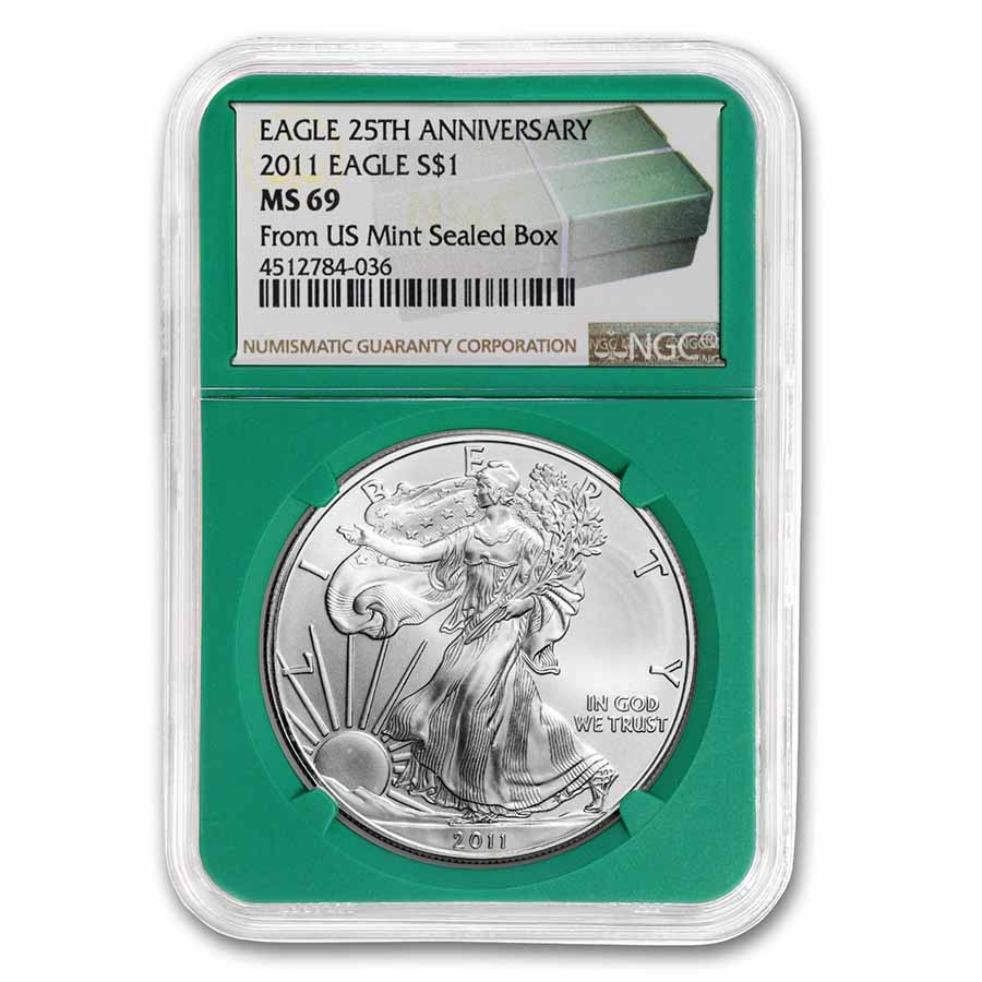 1997 China 20 gram Silver 5 Yuan Unicorn BU (Sealed)